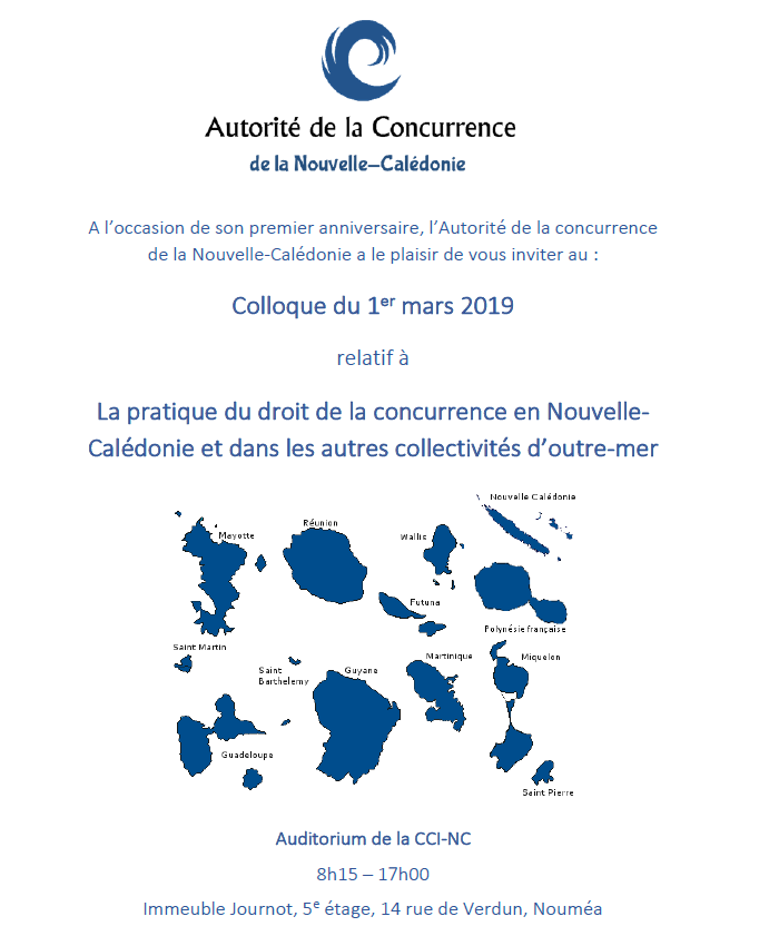 Colloque du 1er mars 2019